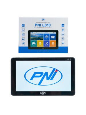 PNI L810 GPS-navigatsioonisüsteem 7-tolline ekraan, 800 MHz, 256M DDR, 8 GB sisemälu, FM-saatja