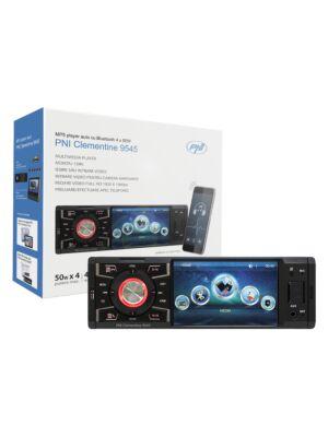 MP5 autopleier PNI Clementine 9545 1DIN 4-tolline ekraan, 50Wx4, Bluetooth, FM-raadio, SD ja USB, 2 RCA video IN / OUT